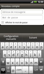 HTC S510b Rhyme - E-mail - Configuration manuelle - Étape 7
