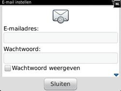BlackBerry 9320 Curve - E-mail - Handmatig instellen - Stap 7