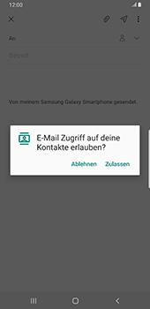 Samsung Galaxy S9 Plus - Android Pie - E-Mail - E-Mail versenden - Schritt 6
