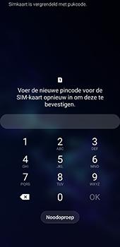 Samsung galaxy-s9-sm-g960f-android-pie - Beveiliging en ouderlijk toezicht - PUK code invoeren - Stap 4