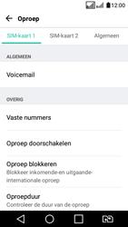 LG K4 2017 - voicemail - handmatig instellen - stap 6