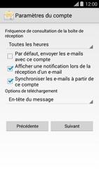 Bouygues Telecom Ultym 5 II - E-mails - Ajouter ou modifier un compte e-mail - Étape 18