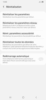 Samsung Galaxy A50 - Téléphone mobile - Réinitialisation de la configuration d