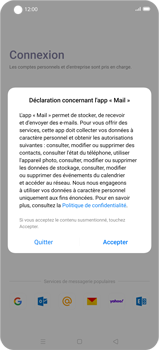 Oppo Find X2 Pro - E-mail - 032c. Email wizard - Outlook - Étape 5