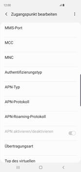 Samsung Galaxy S10 - MMS - Manuelle Konfiguration - Schritt 11