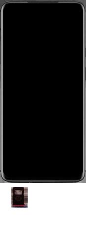 OnePlus 7T Pro - Premiers pas - Insérer la carte SIM - Étape 3