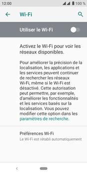 Crosscall Core M4 - Internet et connexion - Accéder au réseau Wi-Fi - Étape 6