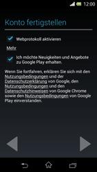 Sony Xperia L - Apps - Konto anlegen und einrichten - 0 / 0