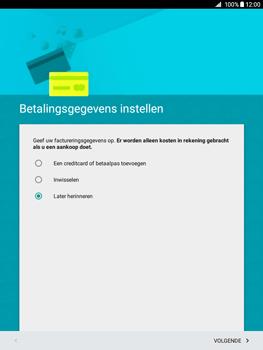 Samsung Galaxy Tab A 9.7 (SM-T555) - Applicaties - Account aanmaken - Stap 16