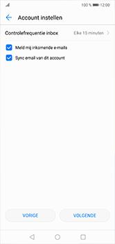 Huawei P20 Lite - E-mail - handmatig instellen - Stap 18