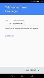 Huawei P10 Lite - Applicaties - Account instellen - Stap 13