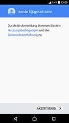 Sony Xperia X Performance - E-Mail - Konto einrichten (gmail) - 1 / 1