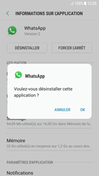 Samsung Galaxy A5 (2016) - Android Nougat - Applications - Comment désinstaller une application - Étape 7
