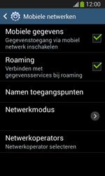 Samsung Galaxy S3 Mini VE (I8200) - Internet - Internet gebruiken in het buitenland - Stap 10