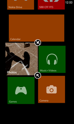 Nokia Lumia 820 / Lumia 920 - Getting started - Personalising your Start screen - Step 7