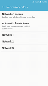 Samsung Galaxy J7 (2016) (J710) - netwerk en bereik - gebruik in binnen- en buitenland - stap 8