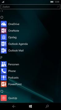 Microsoft Lumia 950 XL - E-mail - handmatig instellen - Stap 3