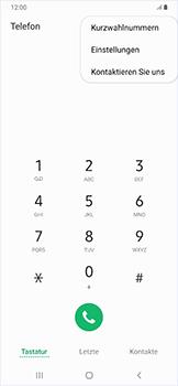 Samsung Galaxy A50 - Anrufe - Rufumleitungen setzen und löschen - Schritt 6
