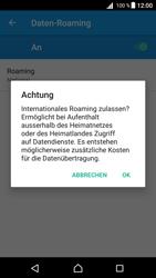 Sony Xperia Z5 Compact (E5823) - Android Nougat - Ausland - Im Ausland surfen – Datenroaming - Schritt 12