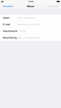 Apple iPhone 8 Plus - E-mail - Account instellen (IMAP met SMTP-verificatie) - Stap 7