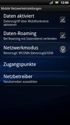 Sony Ericsson Xperia X10 - Ausland - Im Ausland surfen – Datenroaming - 9 / 11