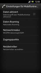 Sony Xperia U - Internet und Datenroaming - Manuelle Konfiguration - Schritt 6