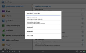 Samsung P7500 Galaxy Tab 10-1 - Netwerk - gebruik in het buitenland - Stap 9