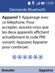 Alcatel 3088X - Internet et connexion - Connexion avec un équipement multimédia via Bluetooth - Étape 9
