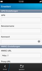BlackBerry Z10 - MMS - Manuelle Konfiguration - Schritt 7