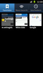 Samsung I9070 Galaxy S Advance - Internet - internetten - Stap 10