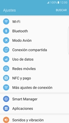 Samsung Galaxy S7 Edge - WiFi - Conectarse a una red WiFi - Paso 4