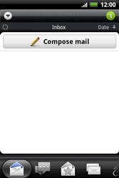 HTC A510e Wildfire S - E-mail - Sending emails - Step 4