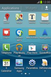 Samsung S6810P Galaxy Fame - Wifi - configuration manuelle - Étape 2