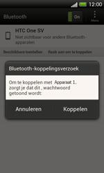 HTC C525u One SV - bluetooth - headset, carkit verbinding - stap 9