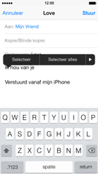 Apple iPhone 5s - E-mail - E-mails verzenden - Stap 9