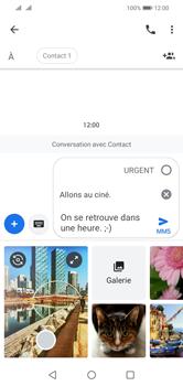 Huawei Y5 (2019) - MMS - envoi d'images - Étape 13