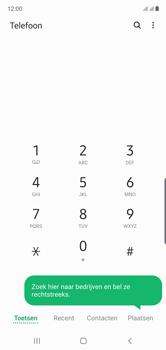 Samsung Galaxy Note 10 - voicemail - handmatig instellen - stap 4
