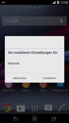 Sony Xperia Z1 Compact - Internet - Automatische Konfiguration - 0 / 0