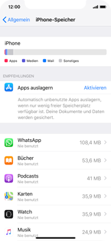 Apple iPhone X - Apps - Apps deinstallieren - 5 / 8