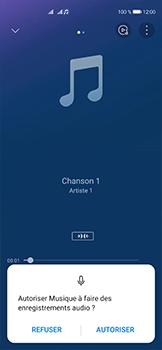 Huawei P40 - Photos, vidéos, musique - Ecouter de la musique - Étape 10