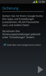 Samsung Galaxy Trend Plus - Apps - Konto anlegen und einrichten - 25 / 28