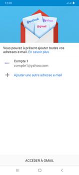 Samsung Galaxy A31 - E-mails - Ajouter ou modifier votre compte Yahoo - Étape 14
