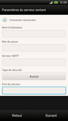 HTC One X - E-mail - Configuration manuelle - Étape 14