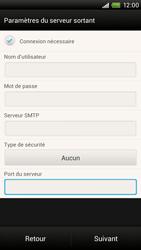HTC One X Plus - E-mail - Configuration manuelle - Étape 14