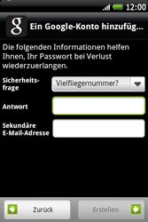 HTC A510e Wildfire S - Apps - Konto anlegen und einrichten - Schritt 11