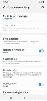 Samsung Galaxy A40 - Sécuriser votre mobile - Activer le code de verrouillage - Étape 5
