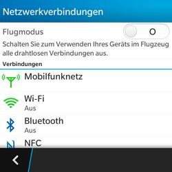 BlackBerry Q5 - Netzwerk - Netzwerkeinstellungen ändern - 5 / 8