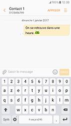 Samsung Galaxy A3 (2017) (A320) - Contact, Appels, SMS/MMS - Envoyer un SMS - Étape 10