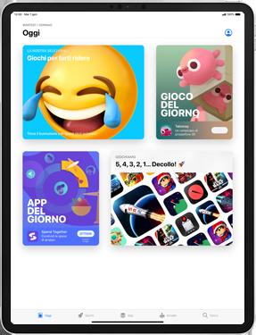 Apple iPad Pro 10.5 (1st gen) - iPadOS 13 - Applicazioni - Configurazione del negozio applicazioni - Fase 5