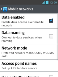LG E430 Optimus L3 II - Internet - Manual configuration - Step 6